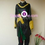 Loki from Marvel Comics Cosplay Costumer front in