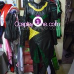 Loki from Marvel Comics Cosplay Costume front in prog