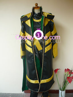 Loki from Marvel Comics Cosplay Costumer front