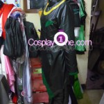 Loki from Marvel Comics Cosplay Costume side in prog