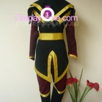 Azula from Avatar Cosplay Costume back