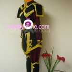 Azula from Avatar Cosplay Costume side