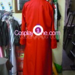 Monkey D. Luffy from One Piece Cosplay Costume back prog