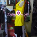 Monkey D. Luffy from One Piece Cosplay Costume side in prog