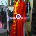 Monkey D. Luffy from One Piece Cosplay Costume side prog