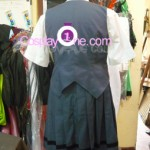 Sasameki Koto from Anime Cosplay Costume back prog