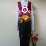 Twisted Fate from League of Legends Cosplay Costume front in