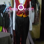Twisted Fate from League of Legends Cosplay Costume front in prog