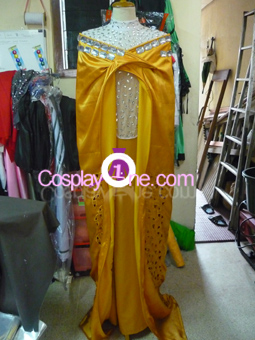 Frigga from Thor Cosplay Costume front prog3