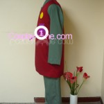 Jiraiya from Naruto Cosplay Costume side