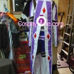 Kratos Aurion from Tales of Symphonia Cosplay Costume back prog