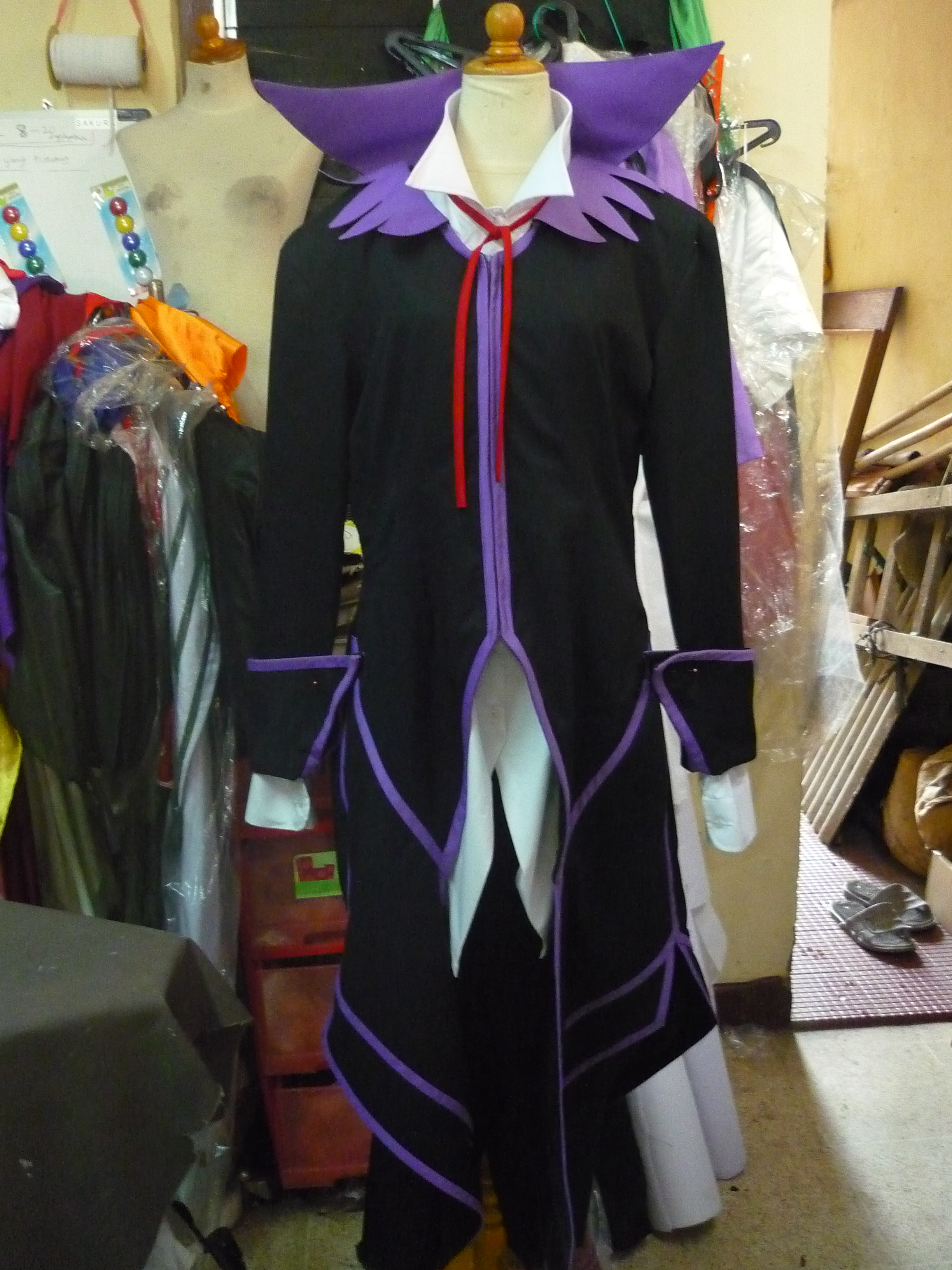 Richter Abend from Tales of Symphonia Cosplay Costume front prog