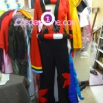 Yasuri Shichika from Anime Cosplay Costume front prog
