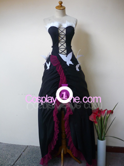 Kuroyukihime from Accel World Cosplay Costume front