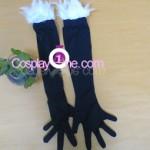 Kuroyukihime from Accel World Cosplay Costume glove