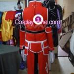 Heathcliff from Sword Art Online Cosplay Costume back prog