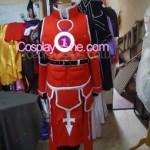 Heathcliff from Sword Art Online Cosplay Costume front prog