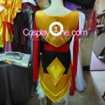 Justicar Syndra from League of Legends Cosplay Costume back prog