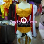 Justicar Syndra from League of Legends Cosplay Costume front prog