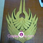 Justicar Syndra from League of Legends Cosplay Costume mask prog