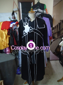 Kirito from Sword Art Online Cosplay Costume front prog