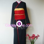 Red Miketsukami Cosplay Costume front