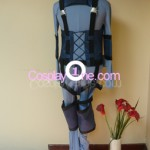 Solid Snake from The Metal Gear Cosplay Costume back