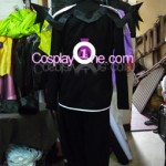 Sora version Halloween from Kingdom Hearts Cosplay Costume back prog