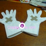 Sora version Halloween from Kingdom Hearts Cosplay Costume glove prog