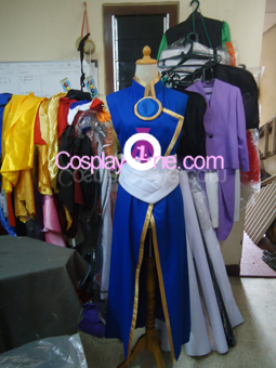 Umi Ryuuzaki from Magic Knight Rayearth Cosplay Costume front prog