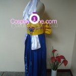 Summoner Yuna from Final Fantasy X Cosplay Costume side