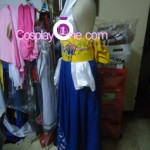 Summoner Yuna from Final Fantasy X Cosplay Costume side prog