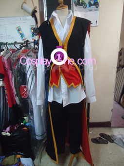 Twisted Fate II from League of Legends Cosplay Costume front prog