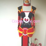 Foxfire Ahri from League of Legends Cosplay Costume front