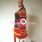 Foxfire Ahri from League of Legends Cosplay Costume side