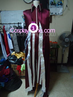 Vladimir Hemomancer from League of Legends Cosplay Costume front prog