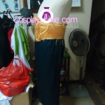 Ay The 4th Raikage from Naruto Cosplay Costume side prog