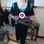 Modern Day Kitana from Mortal Kombat Cosplay Costume front prog