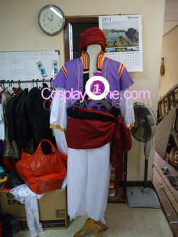 Rei Ryugazaki (Splash Free Version) Cosplay Costume front prog