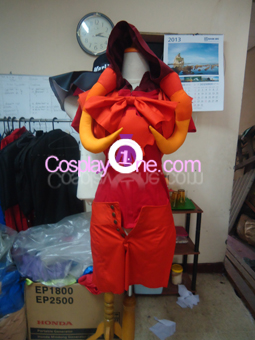 Fancytier Aradia Cosplay Costume front prog