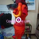 Fancytier Aradia Cosplay Costume side prog