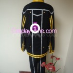 Kirito from The Sword Art Online Cosplay Costume back