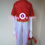 Zero Jr from The Nonary Game Cosplay Costume back