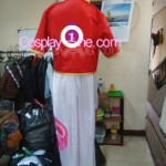 Zero Jr from The Nonary Game Cosplay Costume back prog