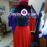 Hero Girl from Pokemon X and Y Gameplay 3D Cosplay Costume back prog