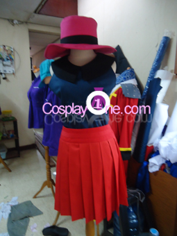 Hero Girl from Pokemon X and Y Gameplay 3D Cosplay Costume front prog