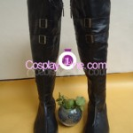 Sephiroth from Final Fantasy VII Cosplay Costume boot front
