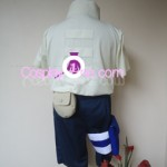 Neji Hyuga from Naruto Cosplay Costume back