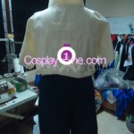 Neji Hyuga from Naruto Cosplay Costume back prog