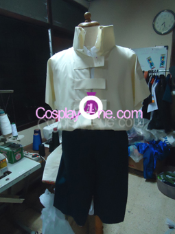 Neji Hyuga from Naruto Cosplay Costume front prog